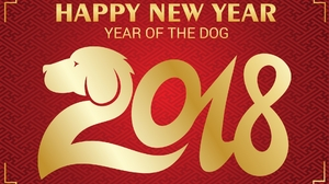 Chinese New Year Dog New Year Red 1920x1350 Wallpaper