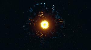 Sci Fi Dyson Sphere 1920x1080 Wallpaper