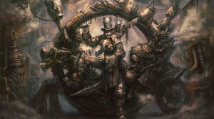 Steampunk Fantasy Art Digital Art Artwork Top Hat Monocles 2000x1372 Wallpaper