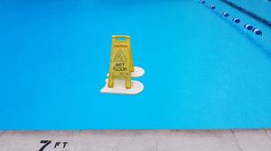 Swimming Pool Water Sign Humor 2560x1440 Wallpaper