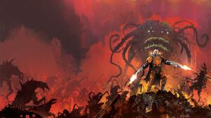 Ismail Inceoglu Artwork ArtStation Creature Weapon Men 2000x1309 Wallpaper