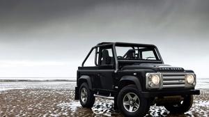 Black Car Car Land Rover Land Rover Defender Off Road Suv Vehicle 4096x2731 Wallpaper