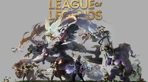 Teemo League Of Legends Ryze League Of Legends Alistar League Of Legends Jax League Of Legends Sion  1920x1149 Wallpaper