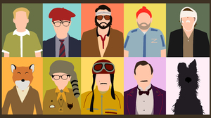 Bottle Rocket Dignan Fantastic Mr Fox Isle Of Dogs Max Fischer Moonrise Kingdom Richie Tenenbaum Rus 12800x7018 wallpaper