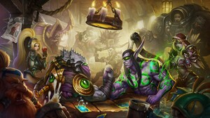Sylvanas Windrunner Contests Hearthstone Heroes Of Warcraft Blizzard Entertainment Heroes Of The Sto 5417x3114 Wallpaper