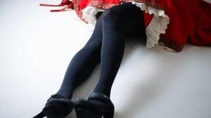 Women Legs Japanese Skirt Heels Asian 2048x1364 Wallpaper