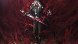 Senfeng Chen Fantasy Art Vampires Sword Magic Bones 1920x1362 Wallpaper