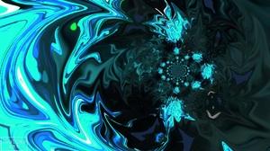 Abstract Blue 2880x1620 Wallpaper