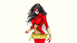 Spider Woman 2171x1221 Wallpaper