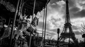 Eiffel Tower Wallpaper Resolution 1920x1200 Id 495002 Wallha Com