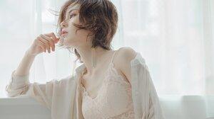 Asian Women Japanese White White Clothing 2048x1364 Wallpaper
