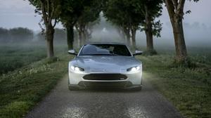 Aston Martin Aston Martin Vantage Car Silver Car Sport Car 2500x1666 wallpaper