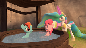Garry 039 S Mod My Little Pony Pinkie Pie Princess Celestia Rainbow Dash 1280x900 Wallpaper