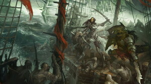 Fantasy Pirate 1280x1024 Wallpaper