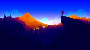 Video Game Firewatch 3840x2160 wallpaper