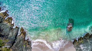 Coast Ocean Rock 3992x2992 Wallpaper