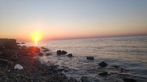 Nature Water Sea Rocks Sunrise Sun Rays 4032x3024 Wallpaper