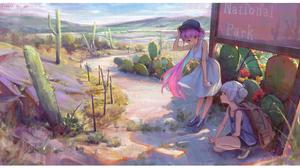 Anime Girls Anime Hololive BWH Minato Aqua Murasaki Shion 4134x2297 Wallpaper
