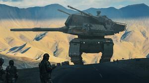 Mech Army War Military 3000x1397 Wallpaper