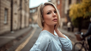 Blonde Still Life Woman Girl 2048x1152 wallpaper