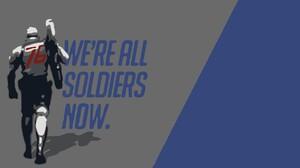 Soldier 76 Overwatch 1920x1080 wallpaper