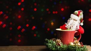 Christmas Mug Santa 6016x4016 Wallpaper