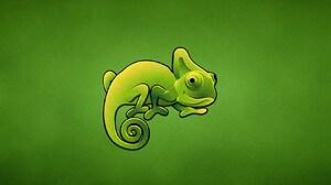 Animal Chameleon 1680x1050 Wallpaper