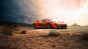 Car Mclaren Mclaren P1 Orange Car Sport Car Supercar Vehicle 3872x2592 Wallpaper