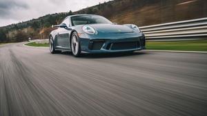 Blue Car Car Porsche Porsche 911 Porsche 911 Gt3 Sport Car Vehicle 5760x3840 Wallpaper