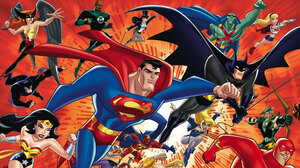 Superman Supergirl Diana Prince Ray Palmer Atom Dc Comics Green Lantern Aquaman Justice League Wally 2400x1257 Wallpaper