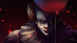 Balloon Clown It 2017 Pennywise It 1920x1080 Wallpaper