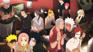 Deidara Naruto Gaara Naruto Hidan Naruto Itachi Uchiha Jiraiya Naruto Killer Bee Naruto Naruto Uzuma 4000x2825 Wallpaper