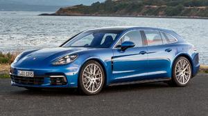Blue Car Car Grand Tourer Luxury Car Porsche Panamera 4s Sport Turismo 1920x1080 Wallpaper