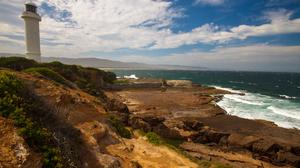 Landscape Australia Sea Lighthouse Coast Nature 4752x3168 Wallpaper