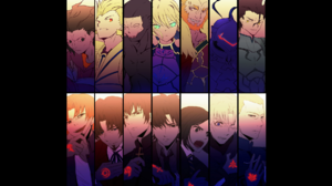 Archer Fate Zero Assassin Fate Zero Berserker Fate Zero Caster Fate Zero Gilgamesh Fate Series Kariy 1920x1200 Wallpaper