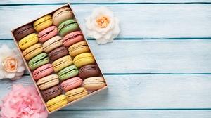 Macaron Sweets 5552x3701 Wallpaper