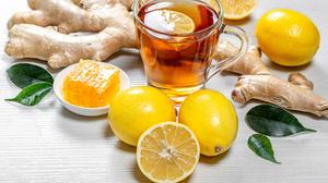 Drink Fruit Glass Lemon Still Life Tea 3960x2640 Wallpaper