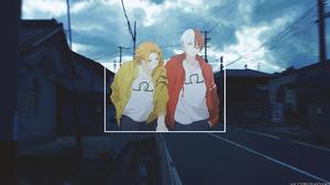 Shoto Todoroki Denki Kaminari 3840x2160 wallpaper