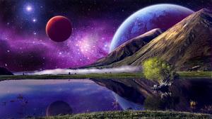Stars Planet 1920x1080 wallpaper