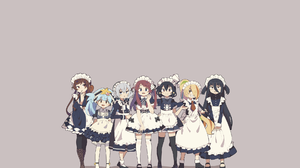 Simple Background Anime Anime Girls Zombieland Saga 1920x1200 Wallpaper