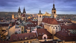 City Prague 1920x1080 wallpaper