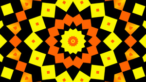 Abstract Colorful Digital Art Geometry Shapes Yellow Orange Color 1920x1080 Wallpaper