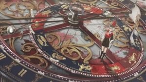 Zodiac Compass Flag Planetes Soldier White Hair Anime Girls Female Soldier 6111x2160 Wallpaper