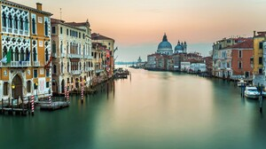 Italy Grand Canal Architecture Water Building 2560x1600 wallpaper