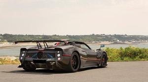Black Car Car Pagani Zonda Aether Sport Car Supercar 3840x2160 Wallpaper