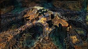 Abstract Fractal 3840x2160 Wallpaper