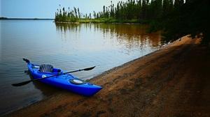 Kayak Lake Water 5324x3458 wallpaper