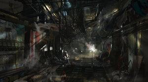 Video Game Deus Ex Mankind Divided 2048x1146 Wallpaper