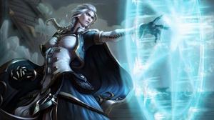 Braid Girl Jaina Proudmoore Magic Sorceress World Of Warcraft 1920x1080 Wallpaper