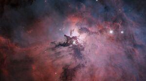 Nebula Stars Galaxy Milky Way Andromeda Space Universe Planet Helix Nebula 3840x2160 Wallpaper